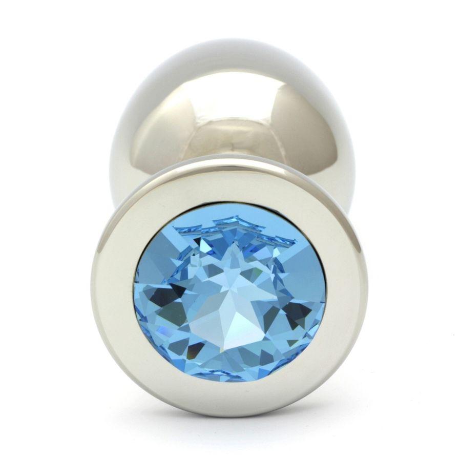 Swarovski Cristal Aquamarine Plug Anal XL 9.6cm / 27mm 1