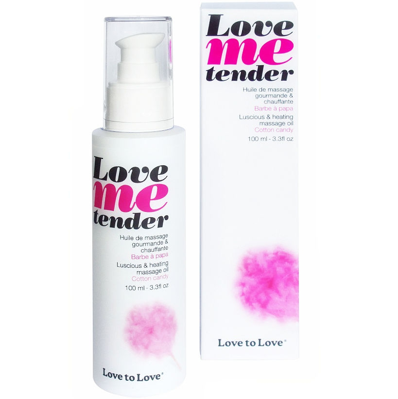 Love To Love Me Tender Masaje & Efecto Calor Sabor a Nubes Algodon 100ml 1