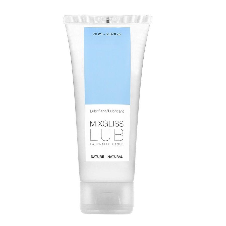 Lubricante Base Agua Natural 70 ml Mixgliss 1