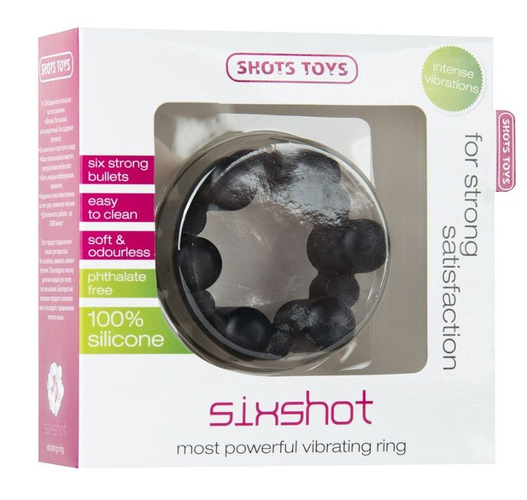 Shots Anillo Vibrador Sixhot 2