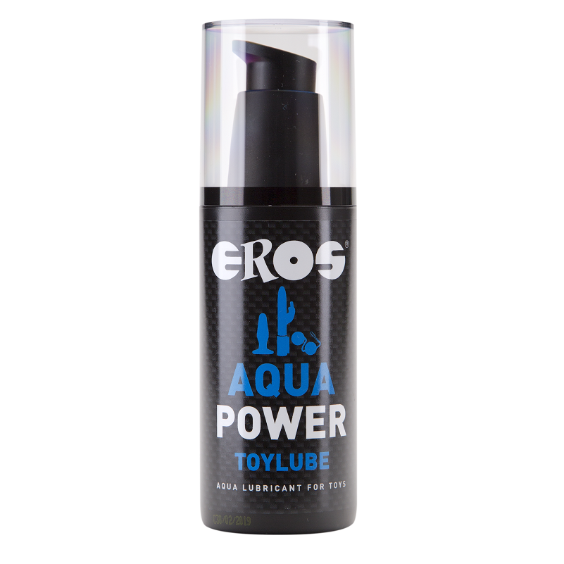 Lubricante Base Agua Aqua Power Especial Juguetes 125 ml Eros 1