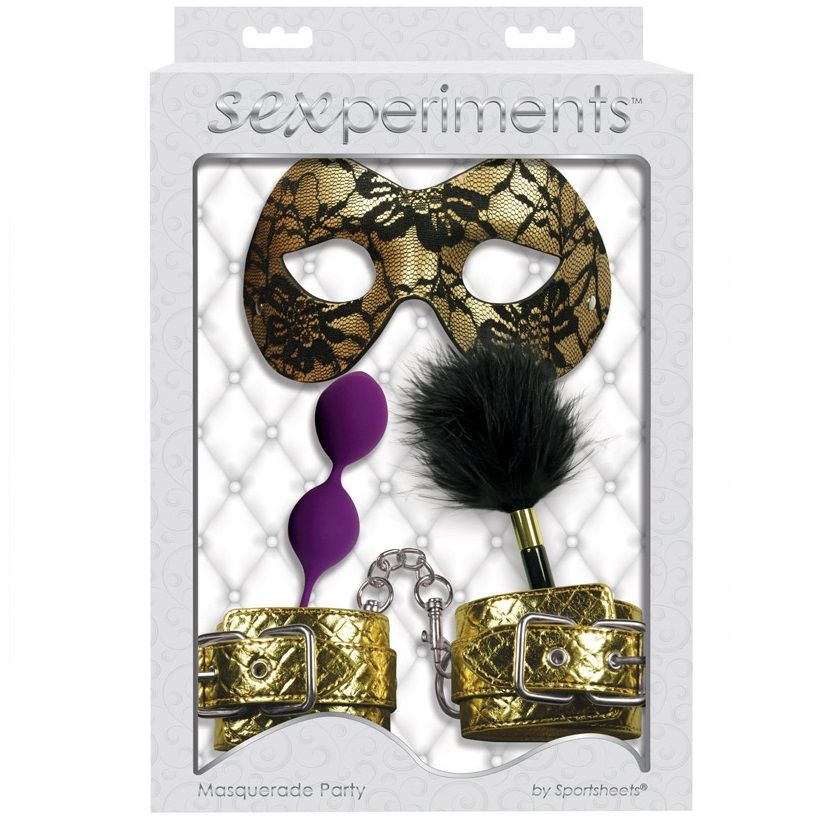 Sexperiments Kit Masquerade Party 1