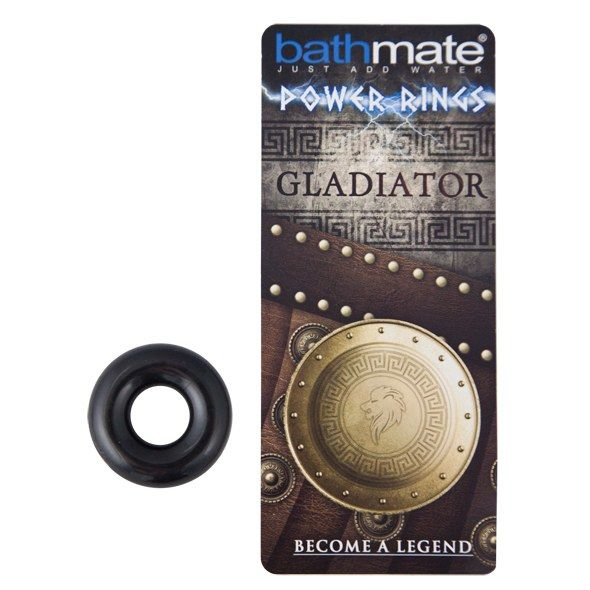 Bathmate Anillo Pene Gladiator Negro 2