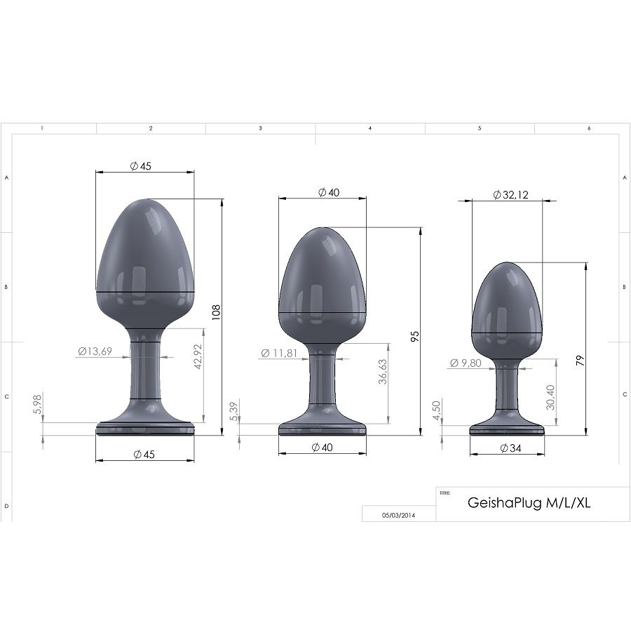 Dorcel Plug Anal Diamond L 9.5cm 1