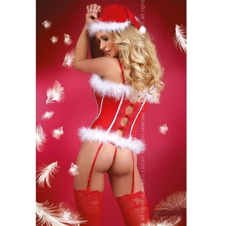 Livco Corsetti Snow Princess Corset Navidad  1