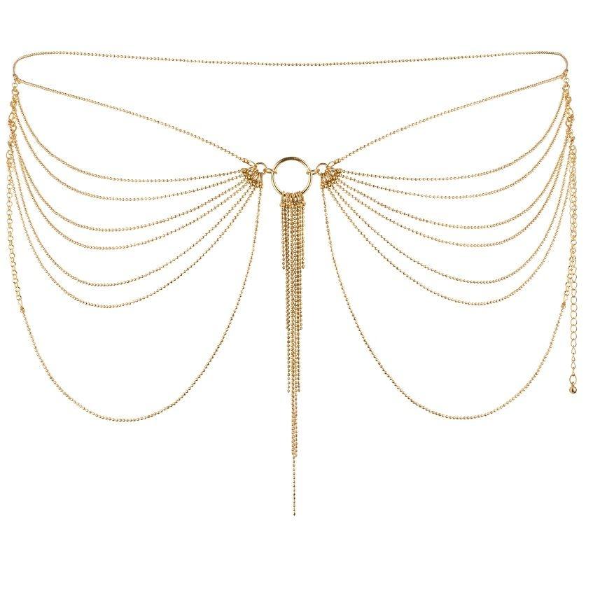 Bijoux Magnifique Joya de Cadenas Metálicas para Cintura 2