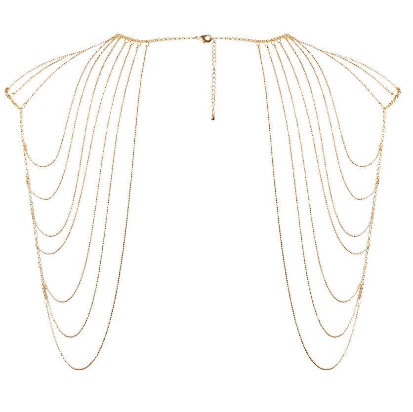 Joya de Cadenas Metálicas para Hombros y Espalda Bijoux Magnifique 1