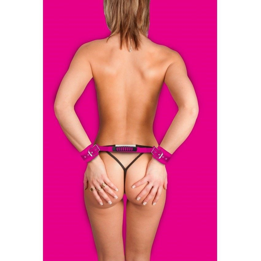 Ouch Esposas Leather Ajustables 1