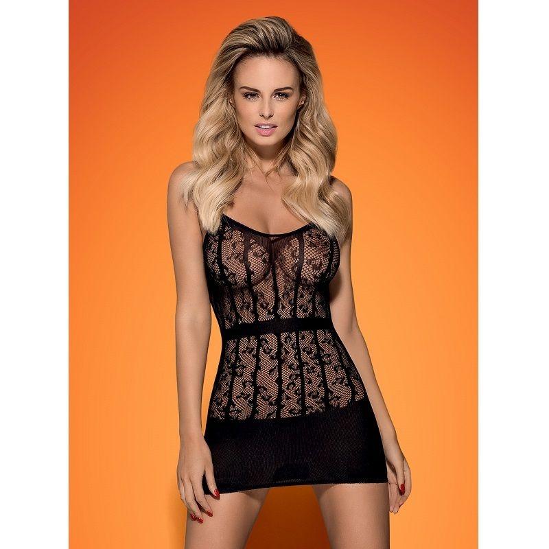Obsessive D605 Dress Black  1