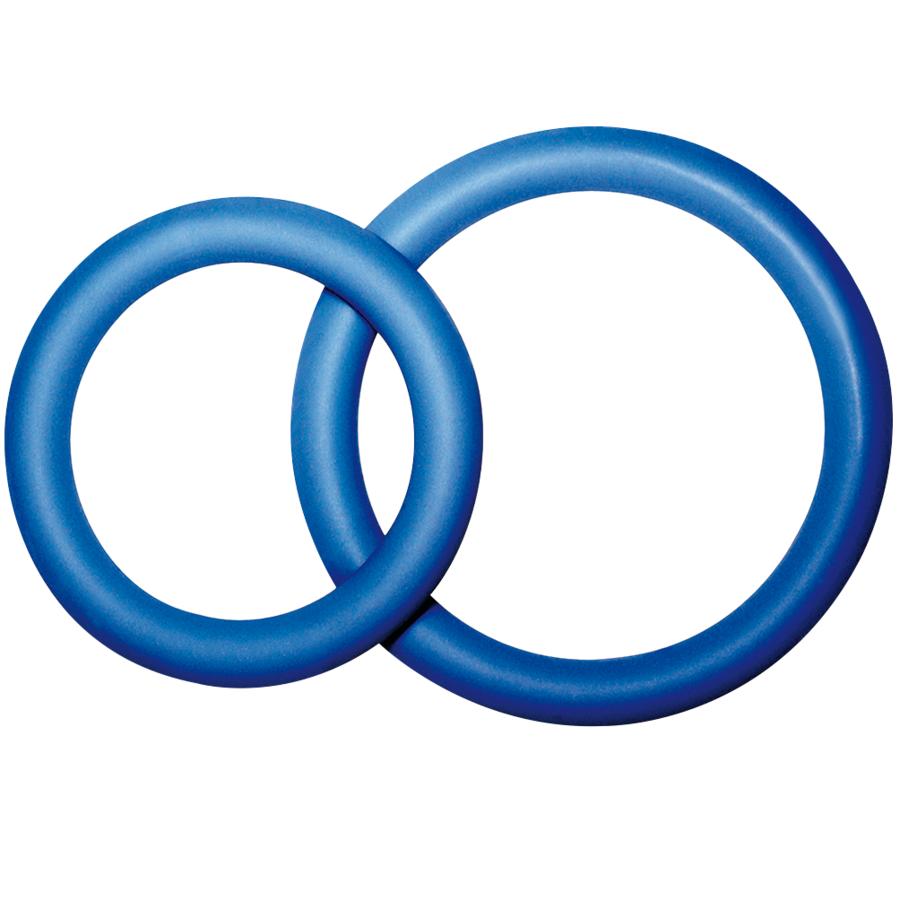 Potenz Duo Azul Anillos Pene Pequeño S 1