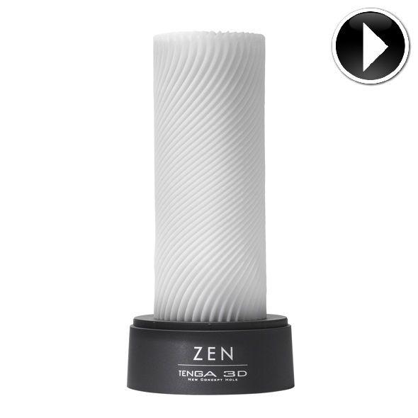 TENGA 3D Zen Sculpted Masturbador Suave 5