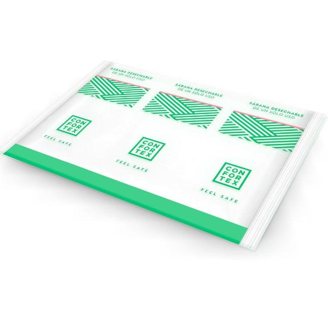 Confortex Sabanas Higiénicas Desechables en Bolsa Individual 1