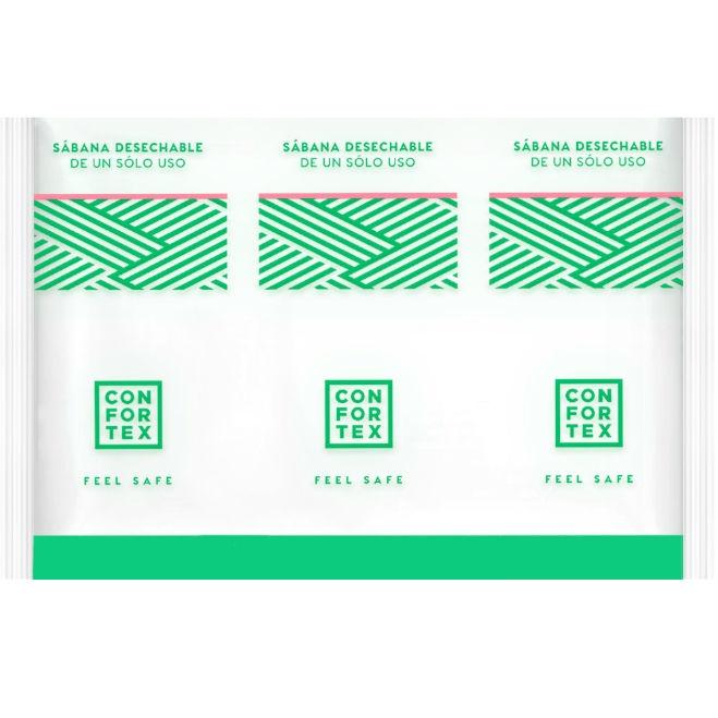 Confortex Sabanas Higiénicas Desechables en Bolsa Individual 2