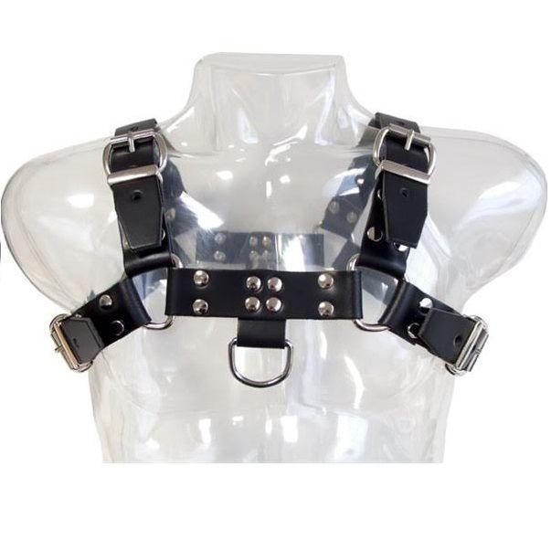 Leather Body Chain Harness III 1