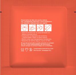 Confortex Preservativo Nature Caja 144 Uds 4