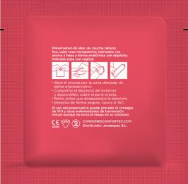 Confortex Preservativos Fresa Caja 144 Uds 4
