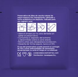 Confortex Preservativo Nature Forte 144 Uds 3