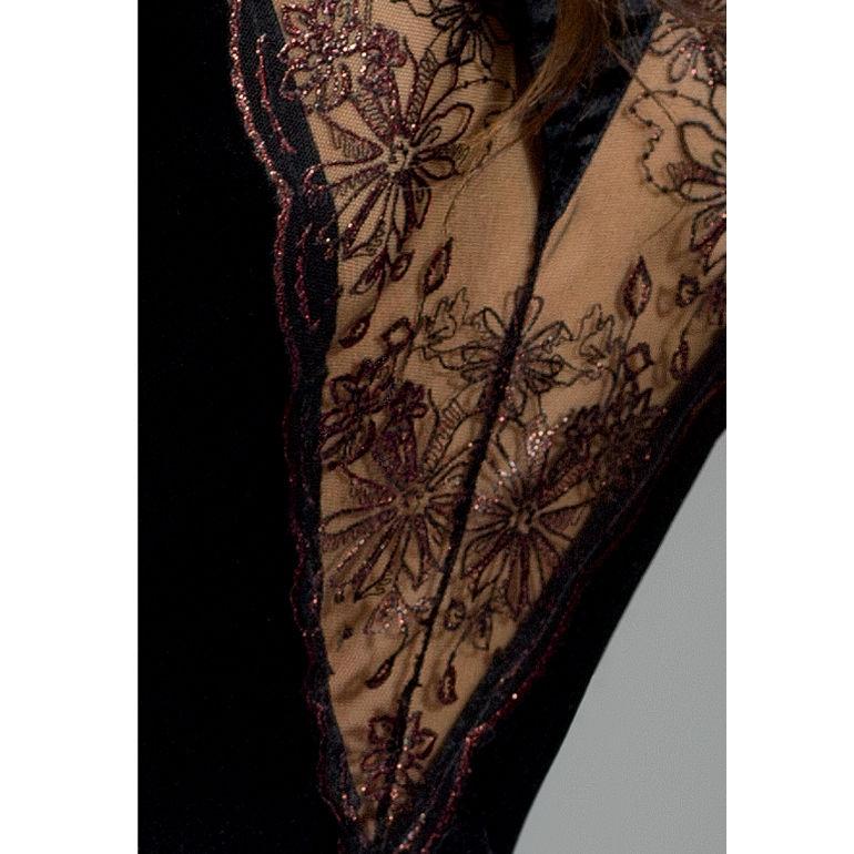 Passion Brida Peignoir Black  1