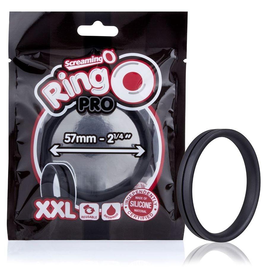 Screaming O Anillo Potenciador Ringo Pro XL Negro 48mm 1