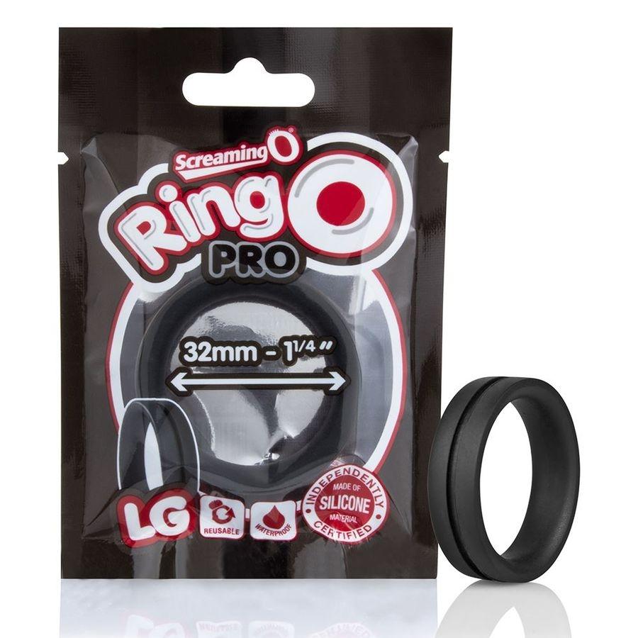 Screaming O Anillo Potenciador Ringo Pro Lg Negro 32mm 4