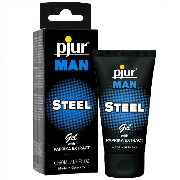 Pjur Man Steel Gel Estimulante 50 ml 1