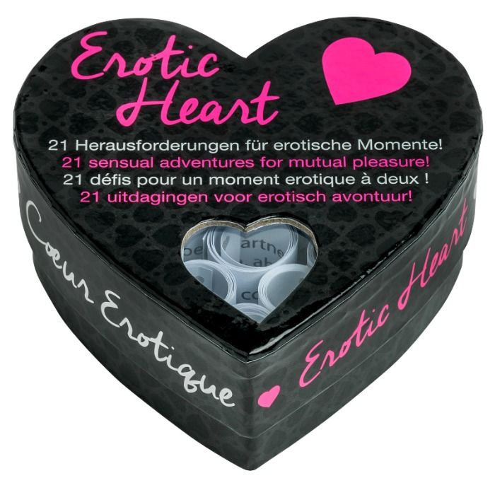 Tease&Please Juego de Corazon Erotic Heart (versión Inglés) 2