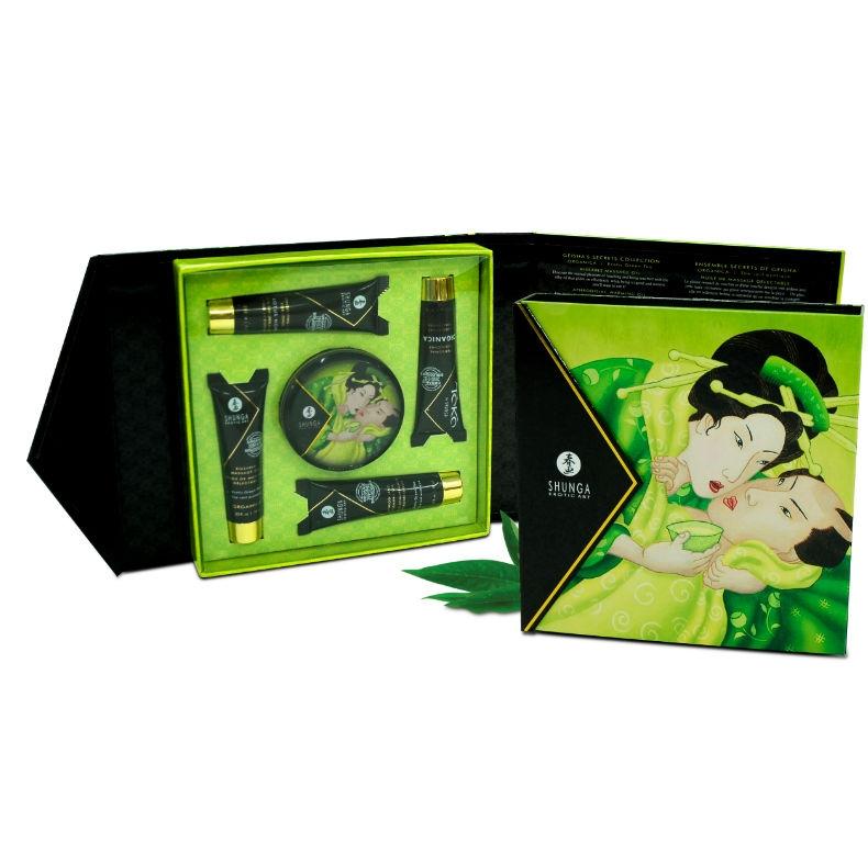 Kit Secret Geisha Exotic Té Verde Shunga 2