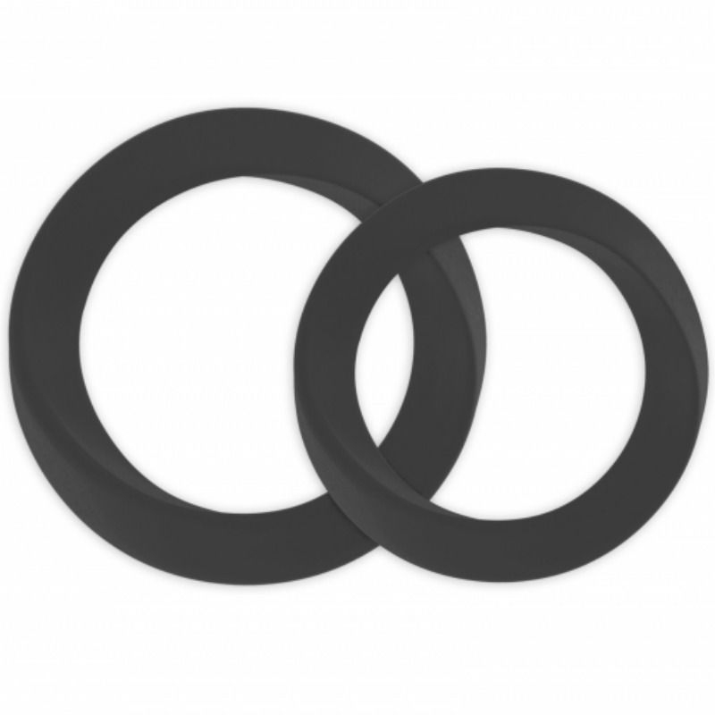 Mjuze Anillo para Pene Silicona Infinity M y L 1