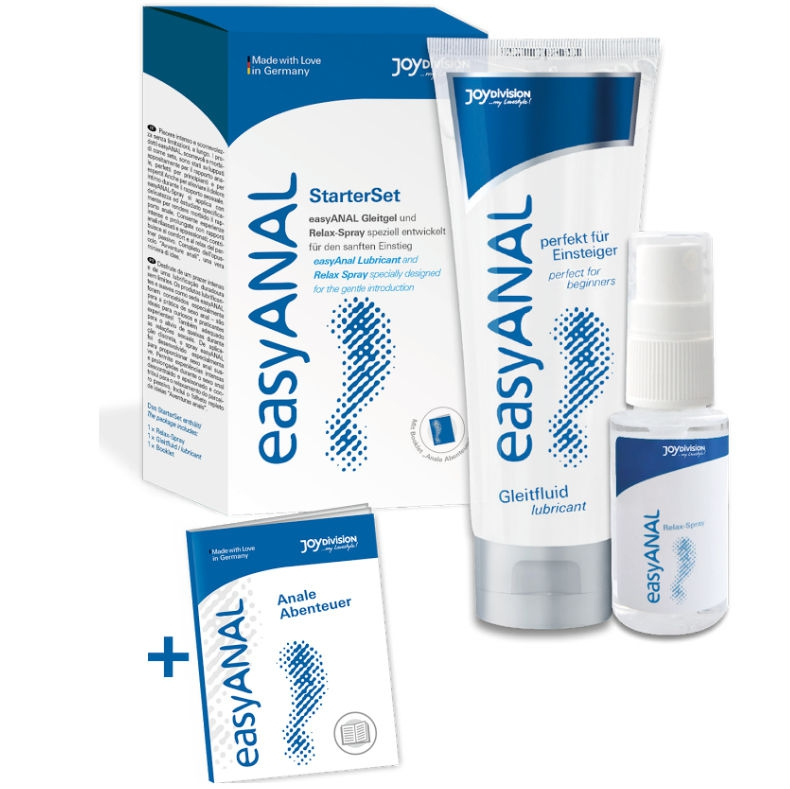 Easy Anal Starter Set Lubricante + Relajante Anal 1