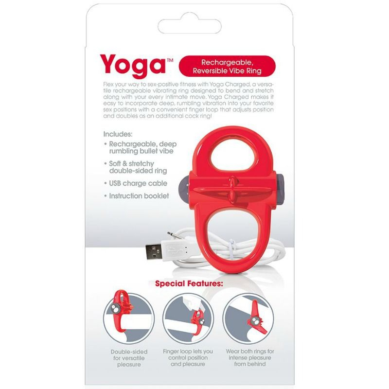 Screaming O Anillo Vibrador Recargable Yoga 3