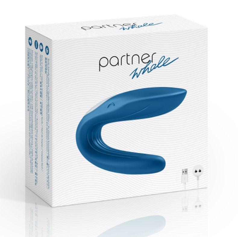 Whale Vibrador para Dos Partner 1