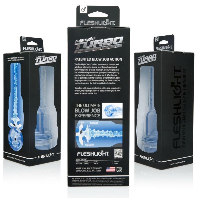 Masturbador Turbo Ignition Blue Ice Fleshlight 2