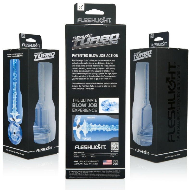 Masturbador Turbo Thrust Blue Ice Fleshlight 3