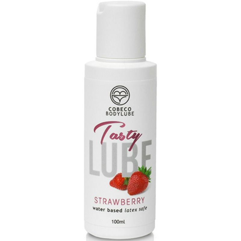 Lubricante Tasty Lube Fresa 100 ml 1