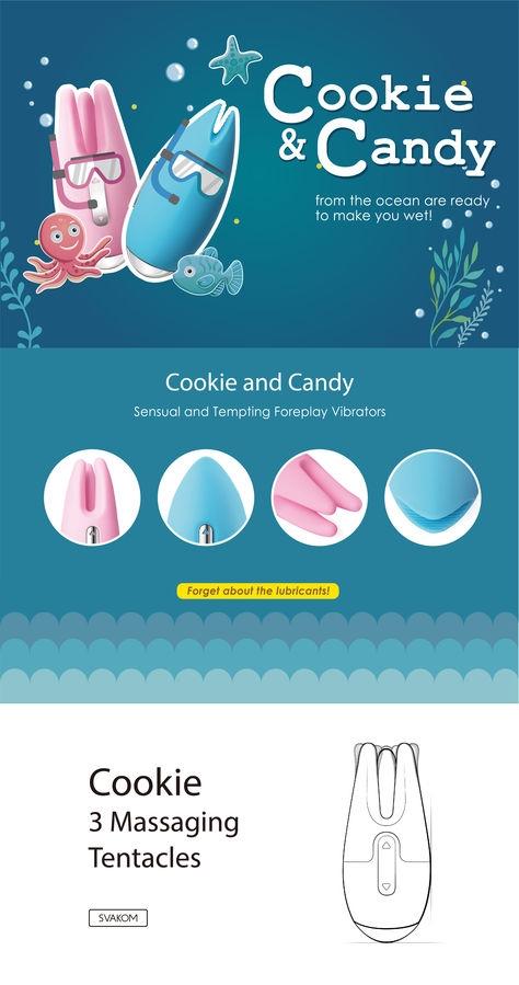 Candy Estimulador Externo Svakom 2