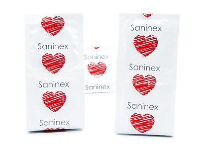 Saninex Condoms Punteado 3 Unidades 2