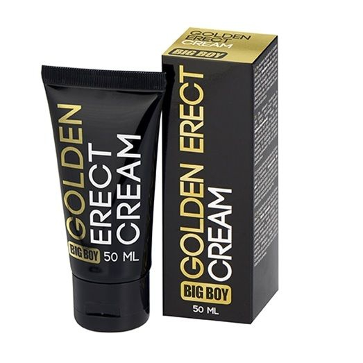 Big Boy Golden Crema Larga Duracion de la Ereccion 1