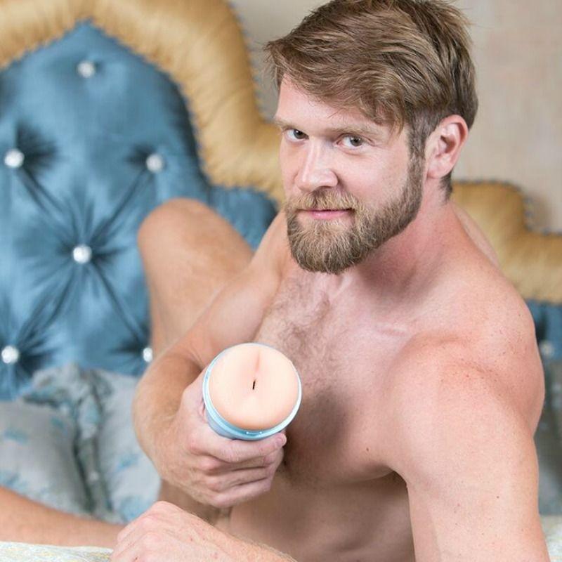 Masturbador Ano Colby Keller Lumberjack Fleshjack 4