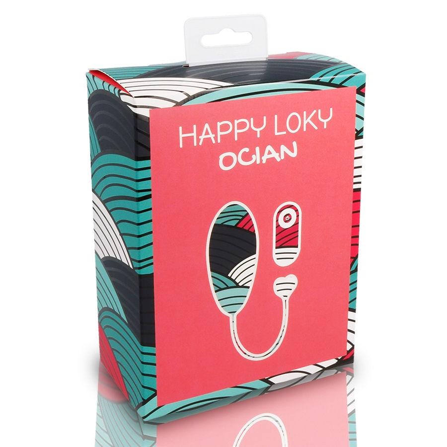 Huevo Vibrador Ocian Happy Loky 2
