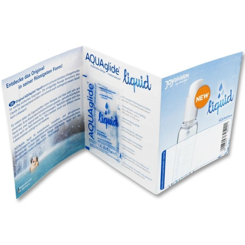 Aquaglide Lubricante Liquid Monodosis 3 ml 1