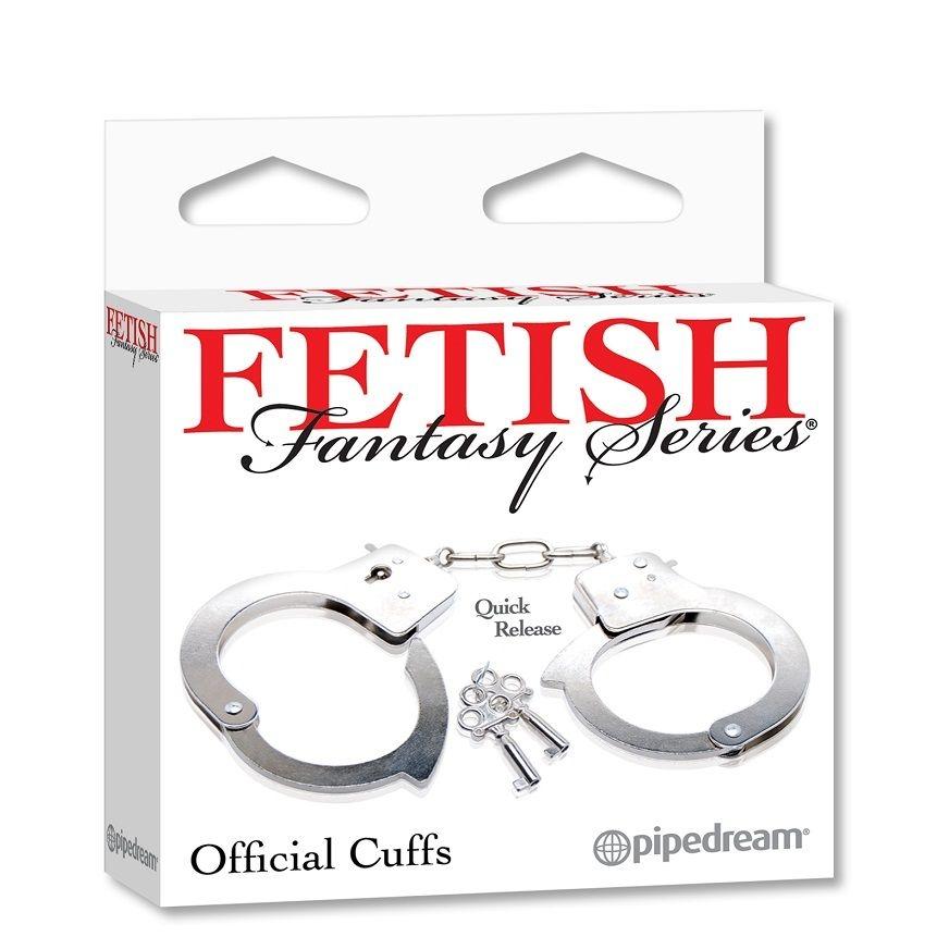 Fetish Fantasy Esposas de Metal 1