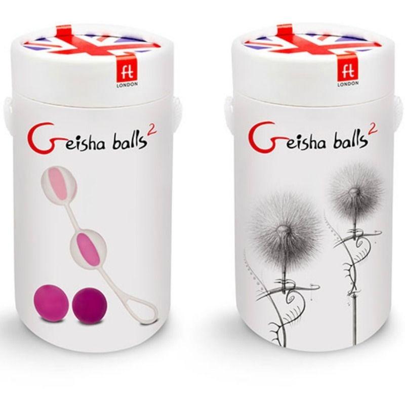 G-Vibe Bolas con 4 Pesos Geisha Balls 2 3