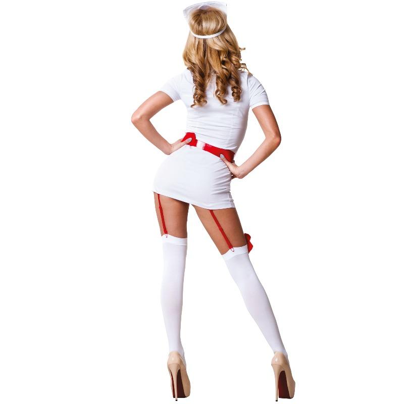 Le Frivole - 02210 Disfraz Enfermera 3 Piezas  2