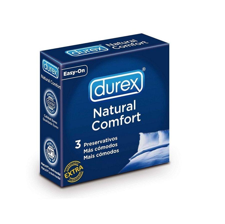 Preservativo Durex Natural Comfort 3 Unidades 1