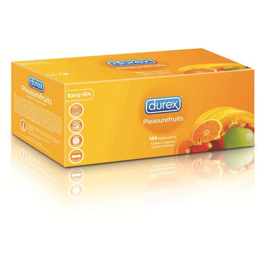 Preservativo Durex Pleasure Fruits 144 Unidades 1