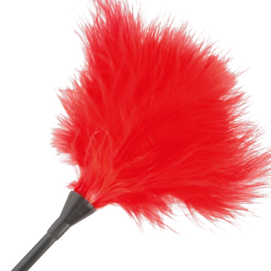 Darkness Pluma Estimuladora Rojo 42cm 2