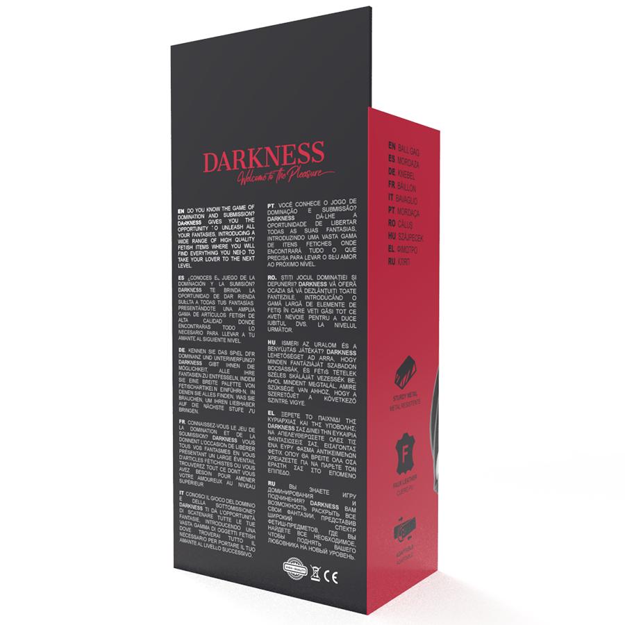 Darkness Mordaza Bola Negra 4