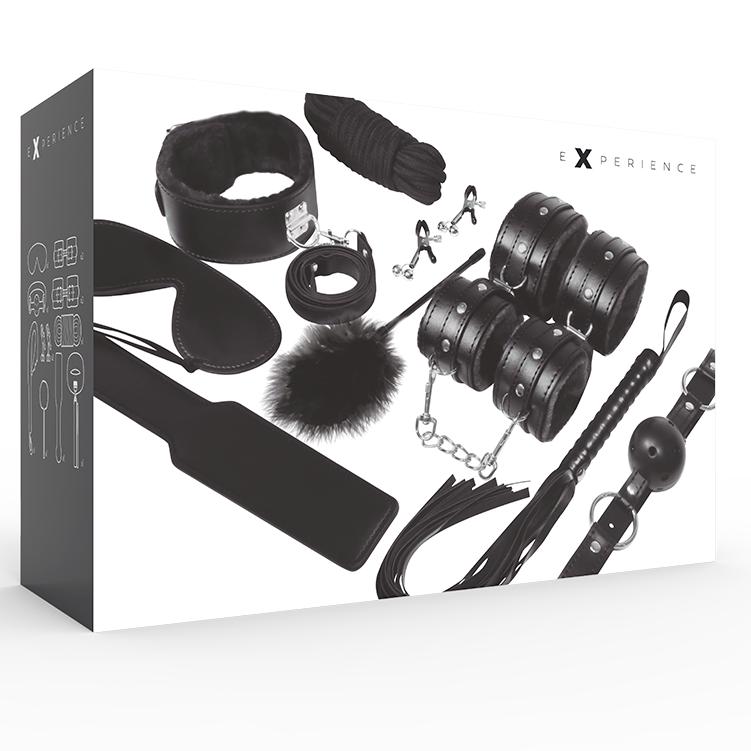 Experience Bdsm Fetish Kit Serie Black 1