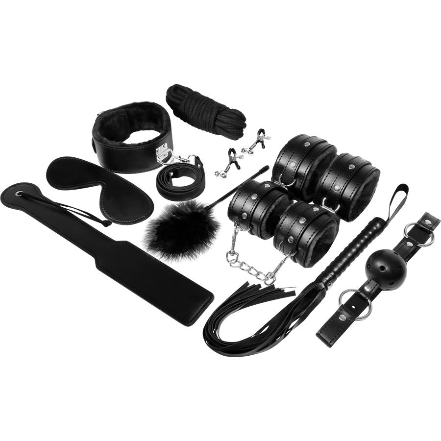 Experience Bdsm Fetish Kit Serie Black 2