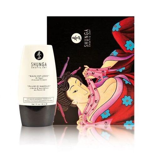 Shunga Lluvia de Amor Crema Estimulante Punto G 1